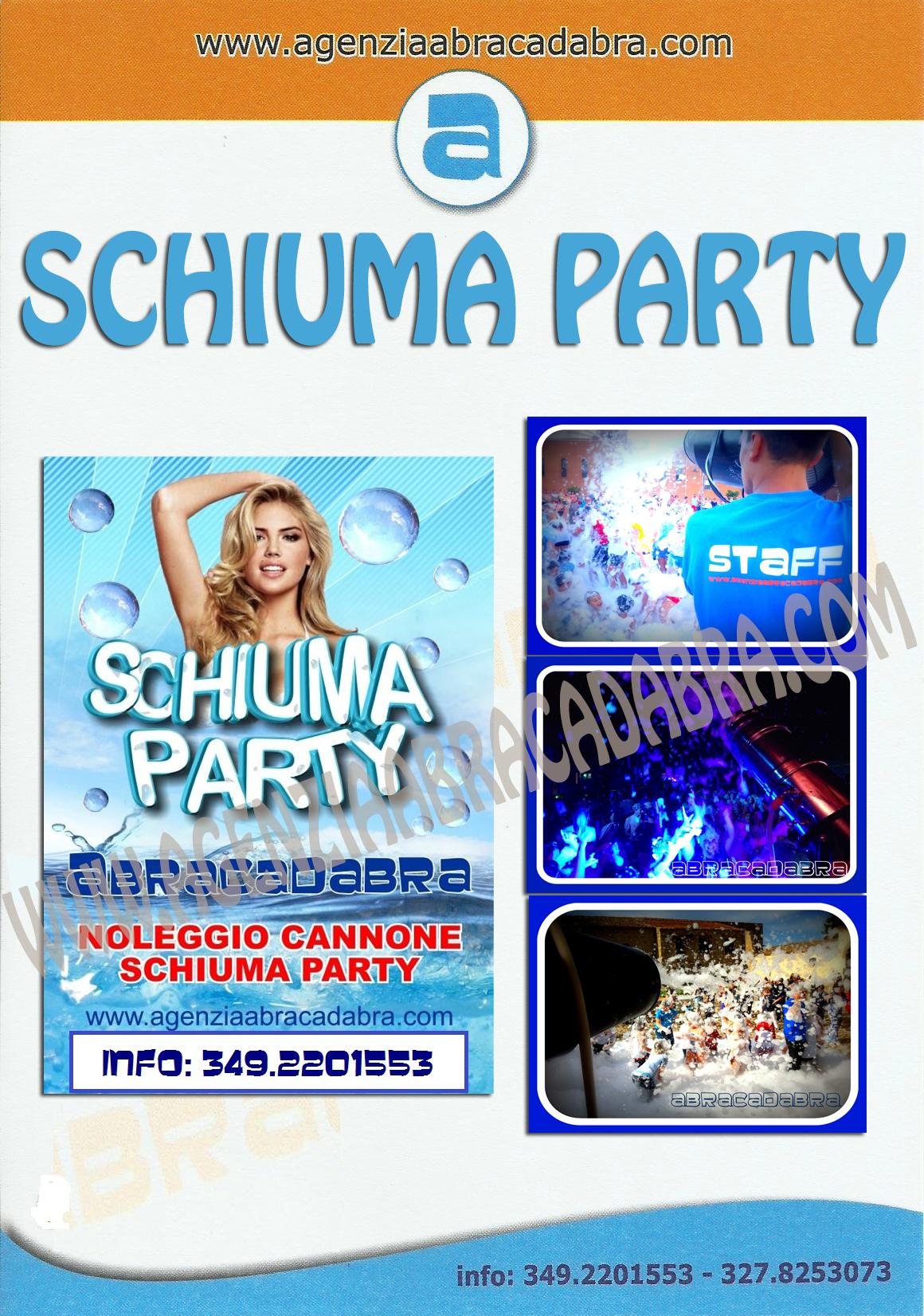 schiuma-party