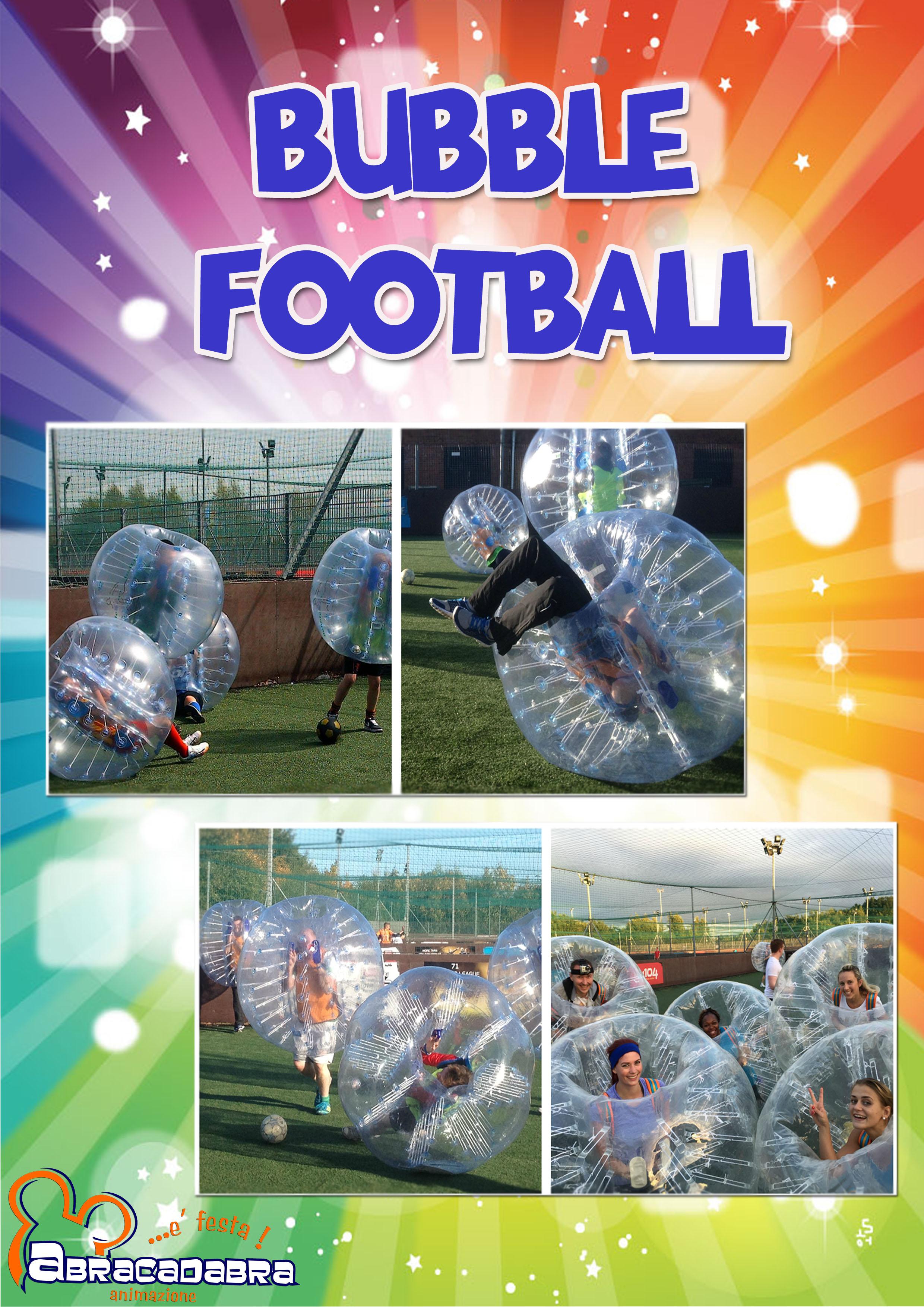 bubble footbal